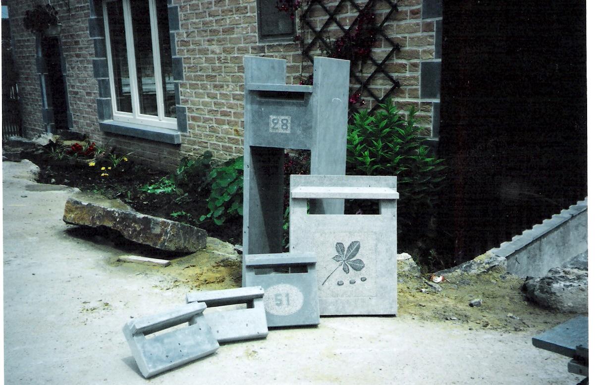 Boite a lettre originale boite aux lettres originales noire design lgant fixe clture jardin - Boite a lettre originale ...