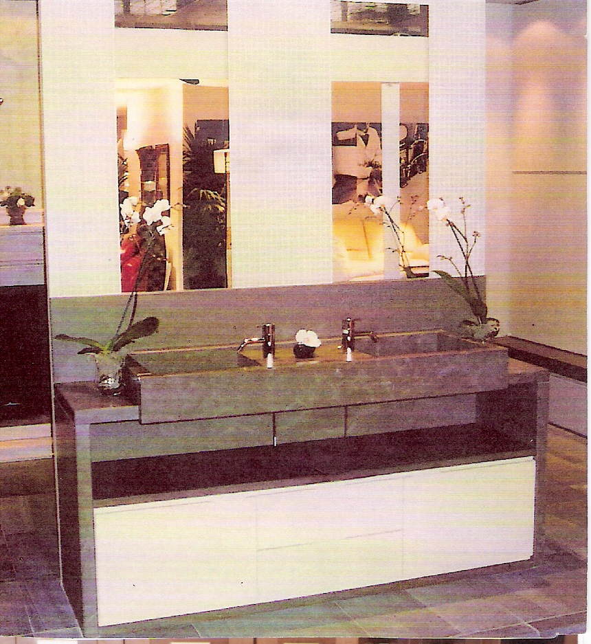 Salle de bain la pi ce la plus importante de la maison - Salle de bain bois pierre ...